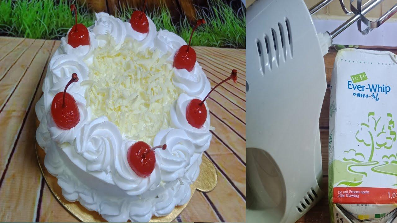 জেলেটিন ছাড়া সকল টিপস সহ পারফেক্ট হুইপড ক্রিম রেসিপি ।। ক্রিম সংরক্ষণ ও ক্রিম তৈরি A-Z।।Cake cream