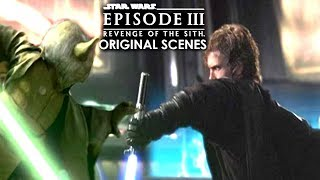 Revenge Of The Sith Original Scenes Revealed! (Star Wars Explained)