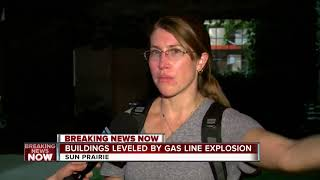 Several injured after Dane County explosion levels buildings