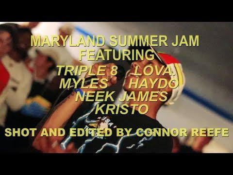 Maryland Summer Jam  *ALL SETS*  Triple 8  Neek James  Kristo  LOVR.  Haydo  Myles