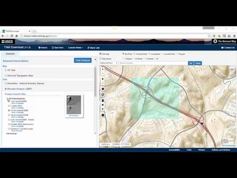 Importing National Map Data into Civil 3D