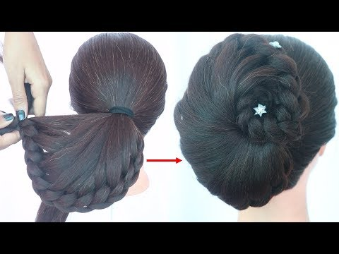 latest-wedding-hairstyle-for-short-hair-||-prom-hairstyle-||-braided-hairstyle-||-party-hairstyle