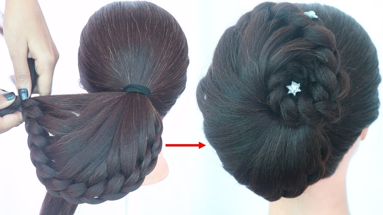 Latest Wedding Hairstyle For Short Hair Prom Hairstyle Braided Hairstyle Party Hairstyle