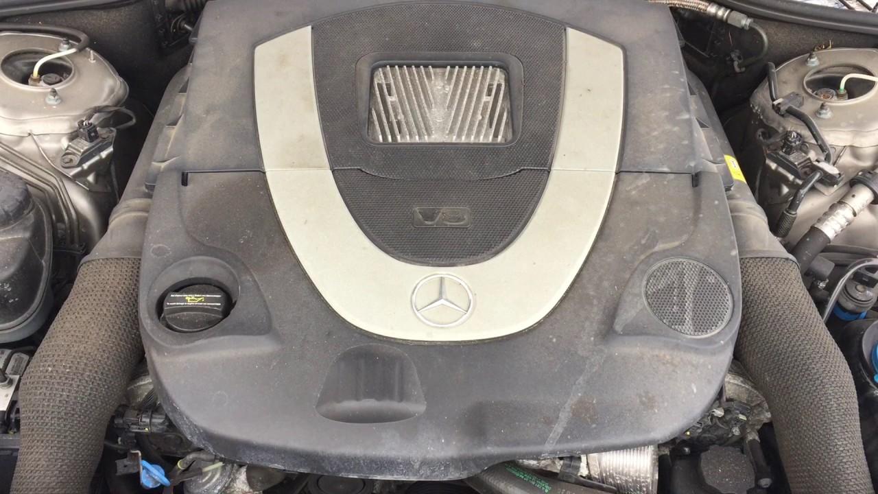MERCEDES-BENZ W221 S500 5 5 V8 388KM M273 961 MOTOR ENGINE SILNIK