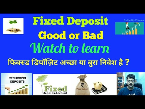 Are we really earning by investing in Fixed Deposit ?? | Watch to learn !!