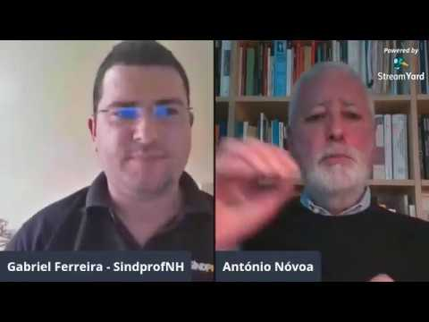 Conversa com António Nóvoa – A Educação em tempos de pandemia (Covid-19 / Coronavírus), 06/04/2020.