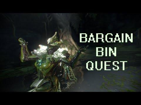 Warframe - Saya's Bargain Bin Vigil