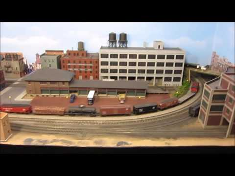 Erie Railroad Mahoning Division N scale