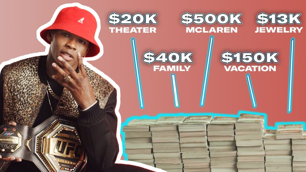 Download How Israel Adesanya Spent His First $1M in the UFC | My First Million | GQ Sports