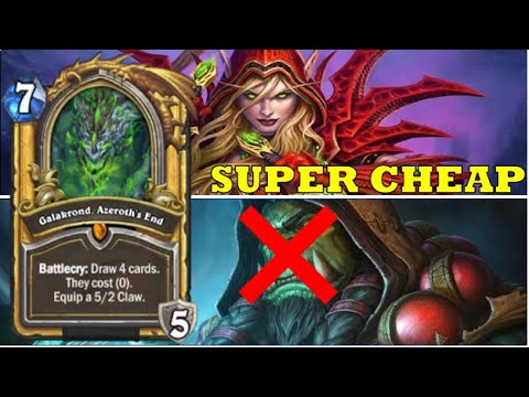 BEST BUDGET DECK In Descent Of Dragons - Galakrond Rogue (Hearthstone)