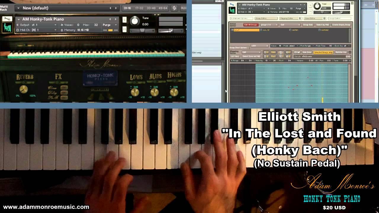 Honky Tonk Piano sample library vst virtual instrument