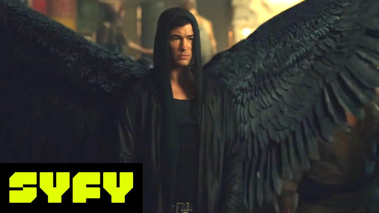 "Download DOMINION (Clips)   Alex vs Gabriel from ""Son Of The Fallen""   SYFY"