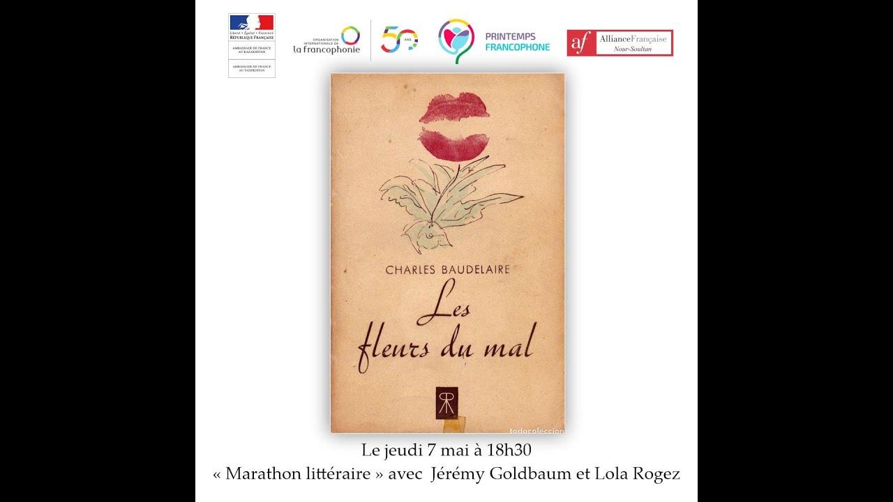 """Marathon littéraire. Séance du 07/05/2020. """"Les fleurs du ..."""