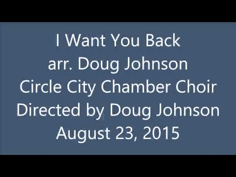 I Want You Back - arr. Doug Johnson