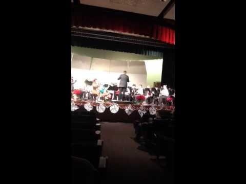 Gunnison middle school high school combined band dec 2013