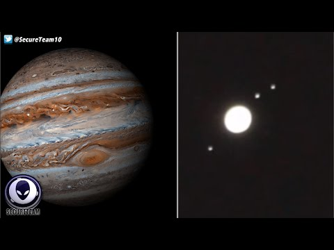 GIANT UFO Tracked Passing Jupiter By Shocked Astronomer! Alien Coverup 6/12/16