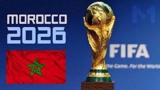 تقديم ملف استضافة كأس العالم 2026 بالمغرب