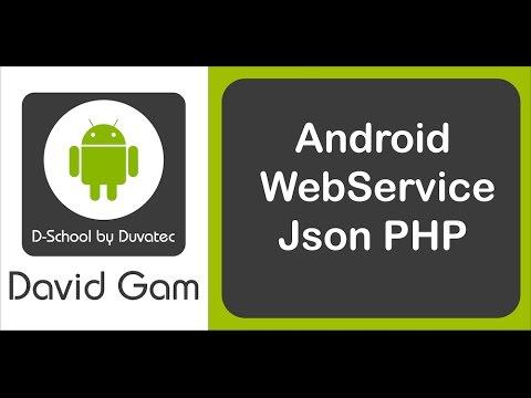 Web Services Android Studio tutorial en español de conexión a web service php json con método post