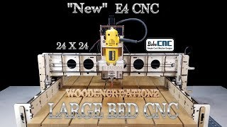 "BobsCNC E4 ""LARGE"" CNC Installation Video ($889 CNC)"