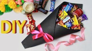 видео Подарок из конфет мужчине на Новый год 2017