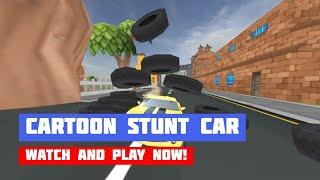 Cartoon Stunt Car · Game · Gameplay