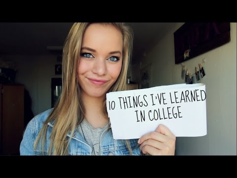 College advice from strangers?