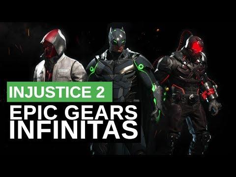 INJUSTICE 2: GEARS ÉPICAS INFINITAS - O MELHOR TUTORIAL DE INJUSTICE 2 #injustice2
