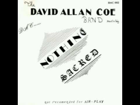 David Allen Coe RAILS rare-banned-racist