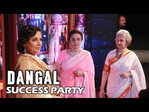 Waheeda Rehman, Shabana Azmi, Sharmila Tagore At DANGAL Success Party