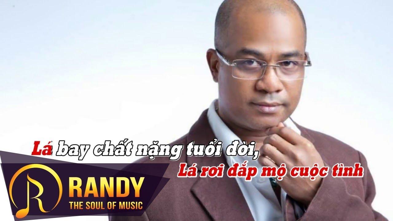 Đắp Mộ Cuộc Tình Karaoke ‣ Randy (St. Vũ Thanh) | Nhạc Vàng Karaoke Beat