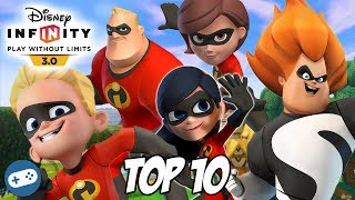 Top 10 The Incredibles Disney Infinity Toy Box Fun Gameplay Videos