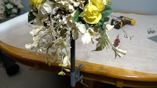 How to make a bouquet bracket