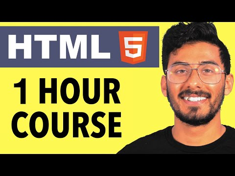 HTML Crash Course For Absolute Beginners 2020 [Tutorial]