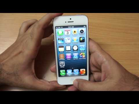 iPhone 5 in India first looks & hands on overview