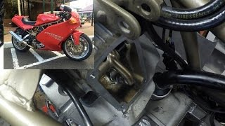 Ducati 900SS - Valve Maintenance (Part 2)