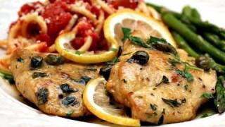 *delicious* Chicken Piccata Recipe - Juicy Chicken Breasts In Lemon Caper Piccata Sauce