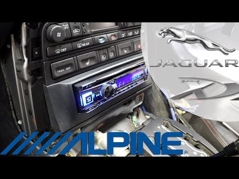 Jaguar XKR FULL SOUND SYSTEM INSTALL | Stereo + Type X Components | Part 1/4