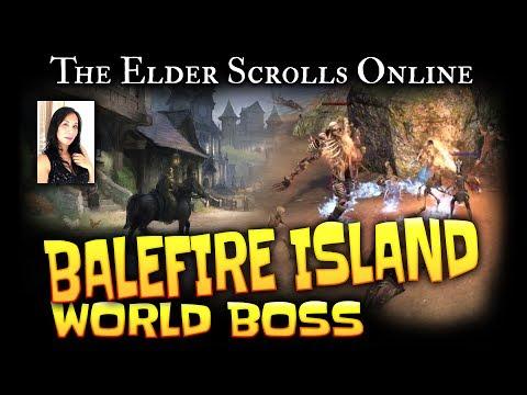 Elder Scrolls Online: World Boss - Balefire Island