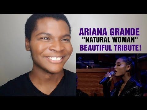 "ARIANA GRANDE & THE ROOTS - ""Natural Women"" Aretha Franklin Tribute (REACTION)"