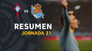 Resumen de RC Celta vs Real Sociedad (3-1)
