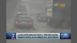 Guatemala ser ve afectado por tormenta tropical