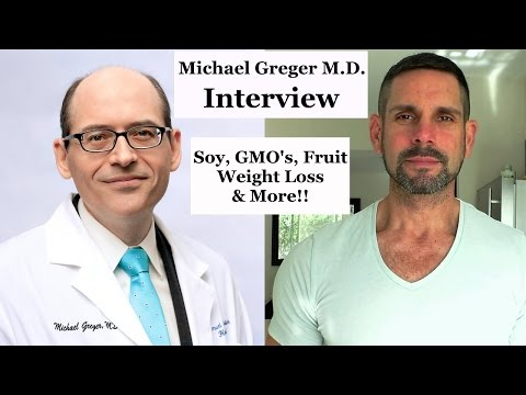 Dr. Michael Greger Interview | Soy, Biggest Loser, GMO's and More!