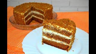 Потрясающий Торт МЕДОВИК в мультиварке Медовый торт Рецепт Медовика в домашних условиях
