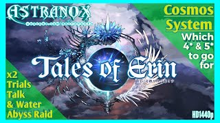 TALES OF ERIN Cosmos System Tips - Which characters to enhance for end-game - ToE Free to Play