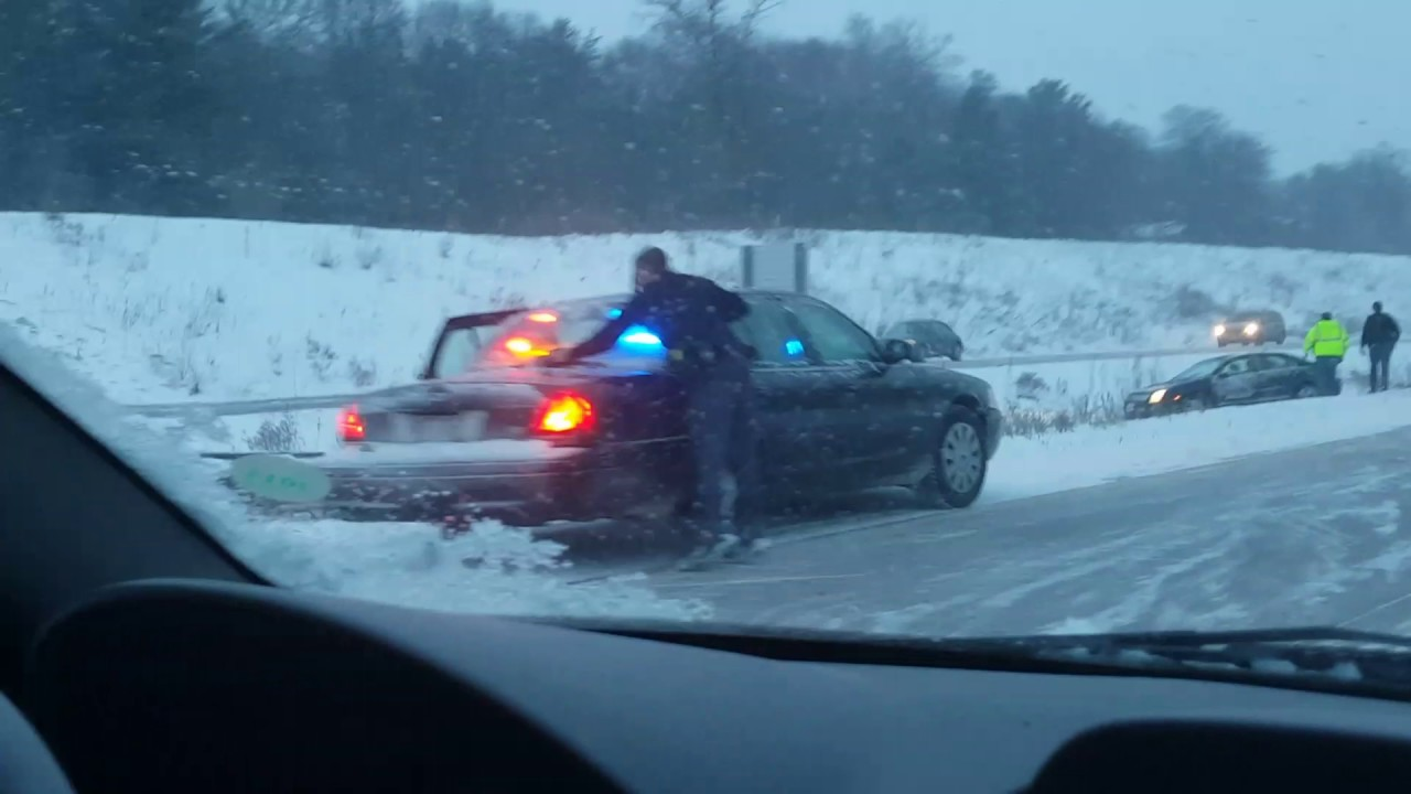 Eau Claire Wisconsin Weather Related Accidents #Snow