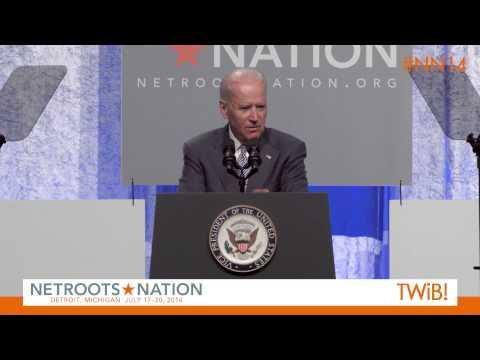 Vice President Joe Biden at @Netroots_Nation 2014 |  #NN14