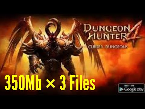 Dungeion Hunter 4 | Apk + Obb | 350 Mb × 3 Files | Clash With Jasneet | #CWJGAMING