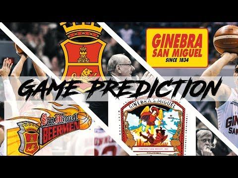 NAGKATOTOO ANG PREDICTION | Brgy. Ginebra San Miguel vs. San Miguel Beermen PBA