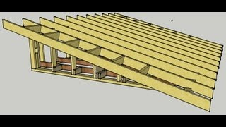 Skillion Roof Erection Procedure