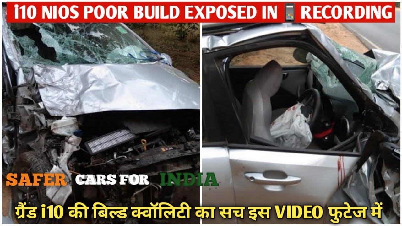 Reality Of 2 Star Crash Rating Of Hyundai Grand i10 Nios Exposed 🔥 | How Safe Is Grand i10 Nios ?